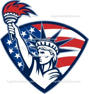326-statue-of-liberty-holding-flaming-torch-shield