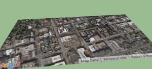 Process of Placing 3D buildings in skp