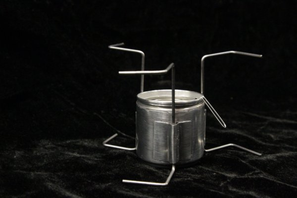 Minimalist Alcohol Stove by Kenzy O'neill