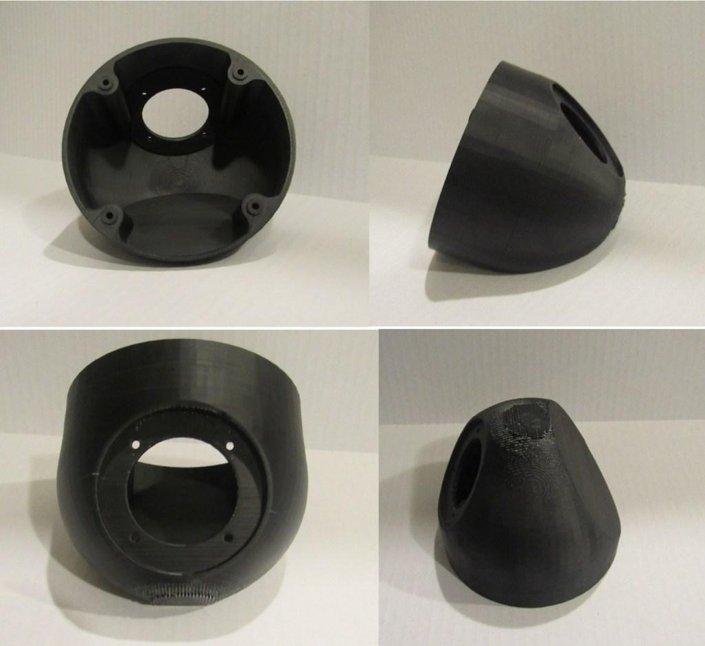 Figure 16: ABS 3D printed speaker casing