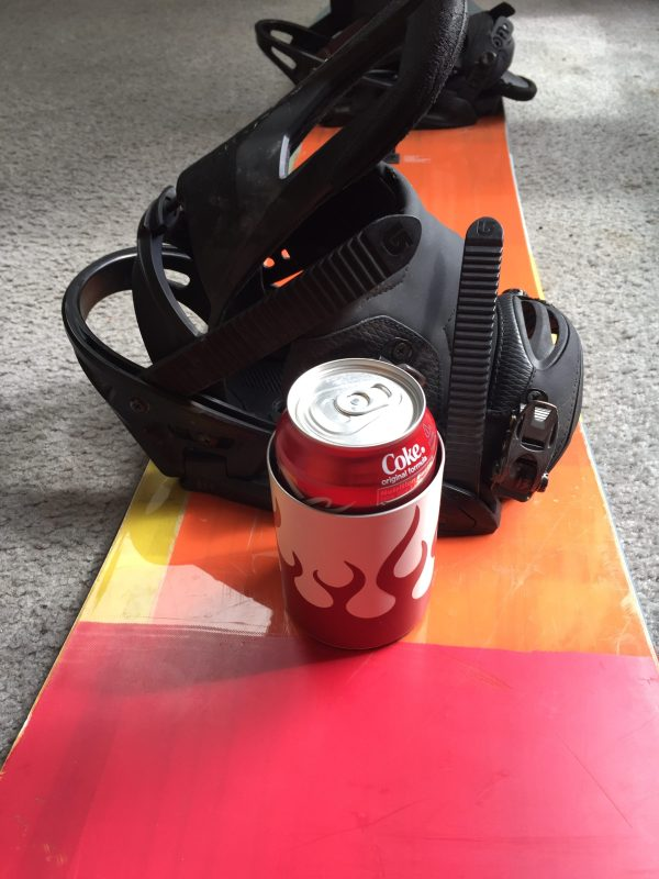 Snowboard Cup Holder by Matt Clark