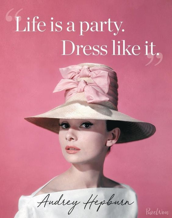 Hepburn Fashion Advice