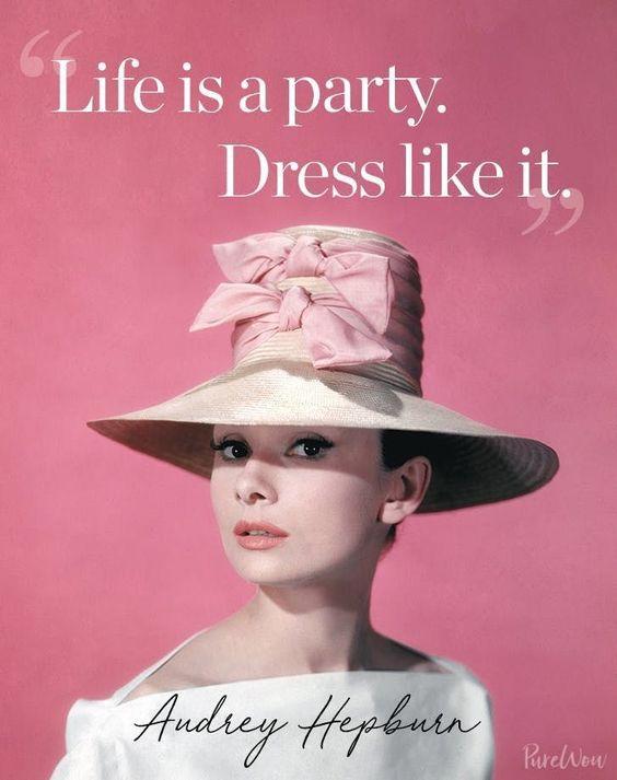 Hepburn Fashion Advice