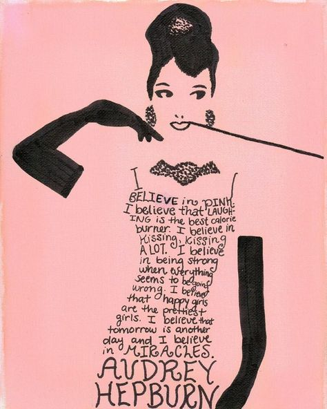 Hepburn Art Quote