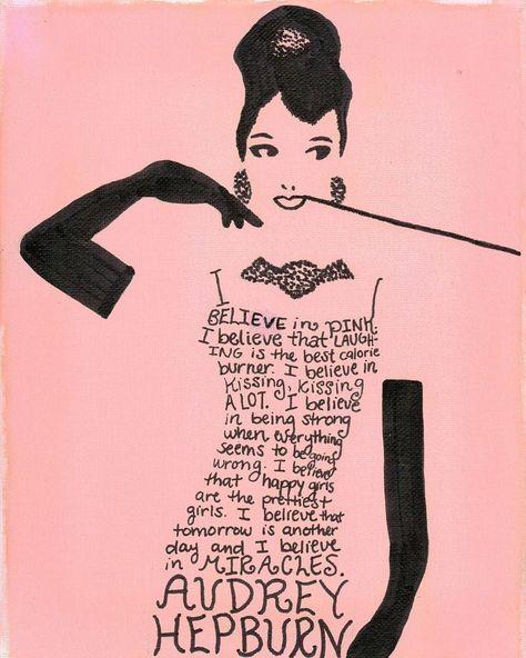 Hepburn Art Quote