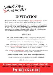 Invitation CL14