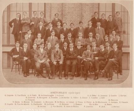 Album : 1911 1911 A Rhétorique 1910-1911.