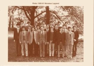 Album : 1981 1981 LSA 6ème Latin-Sciences A 1980-1981 - Titulaire : Monsieur Legrand.