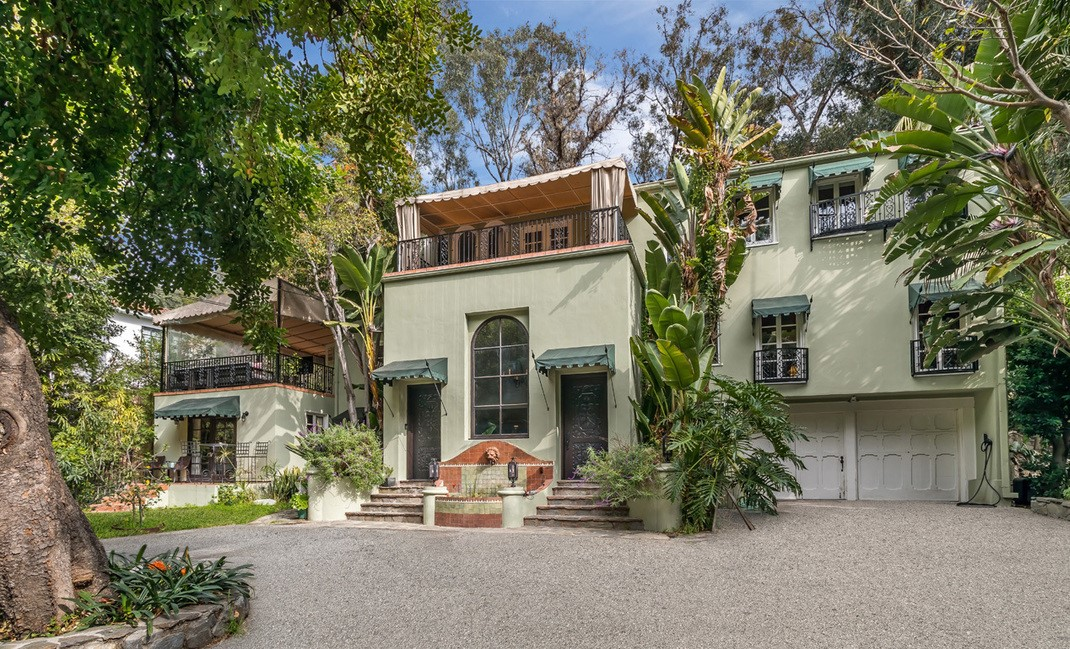 Hollywood Producer Laurel Canyon Estate Sale in an Iconic Art Deco Hollywood Estate For a Great Cause!