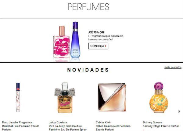 loja aem sephora perfumes