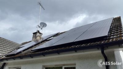 Solar solar PV installation