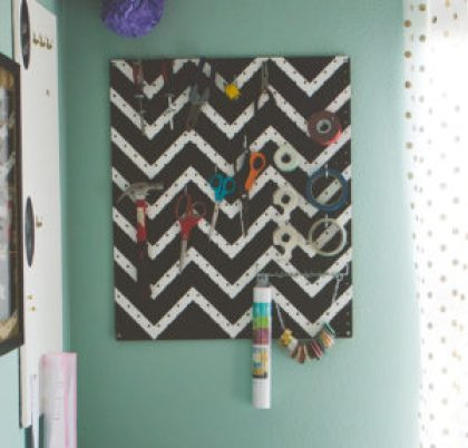 Craft Room Tool Organizer | Photo by Emily Anne Photography
