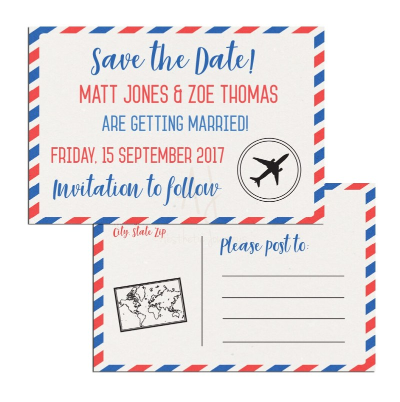 Airmail Travel themed