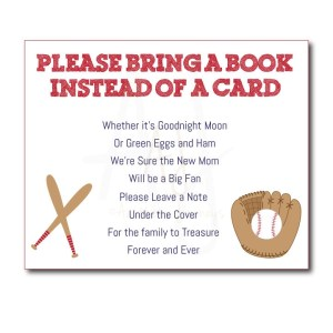 baseball baby book game