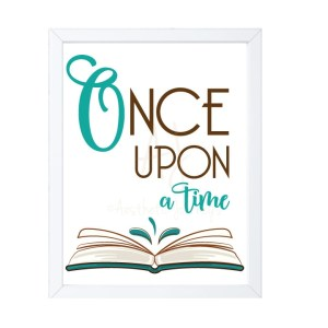 Once Upon a Time Nursery Decor