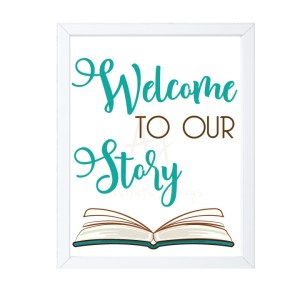 Welcome to Our Story Nursery Decor