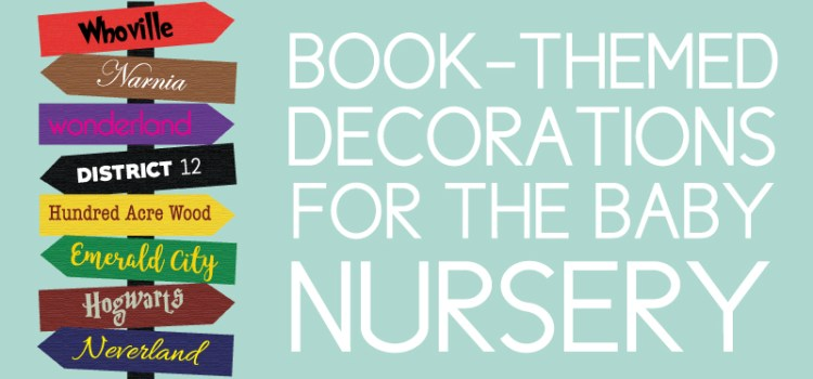 Book themed nursery decor