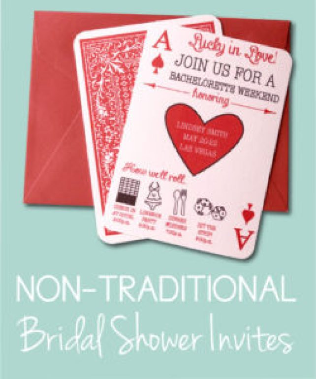 non traditional bridal showers