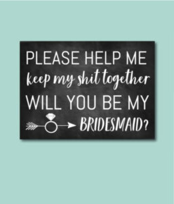 Help Me Keep My Shit Together Card