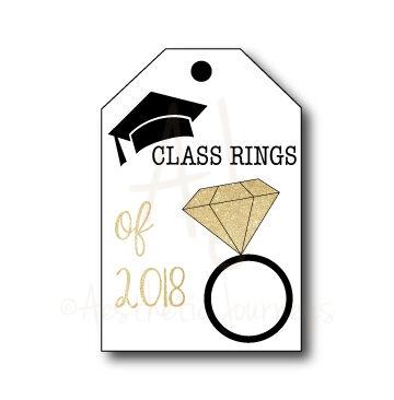 Class of 2018 Graduation Tags