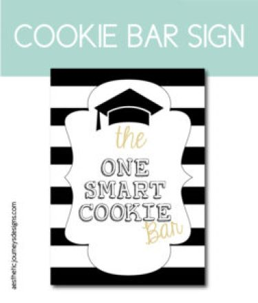 One Smart Cookie Bar Sign