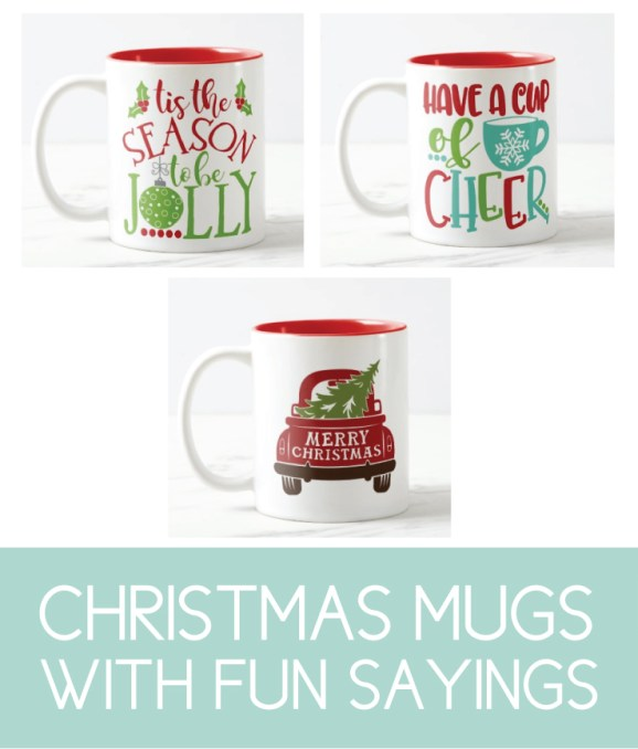Fun Christmas Mugs for the Holidays