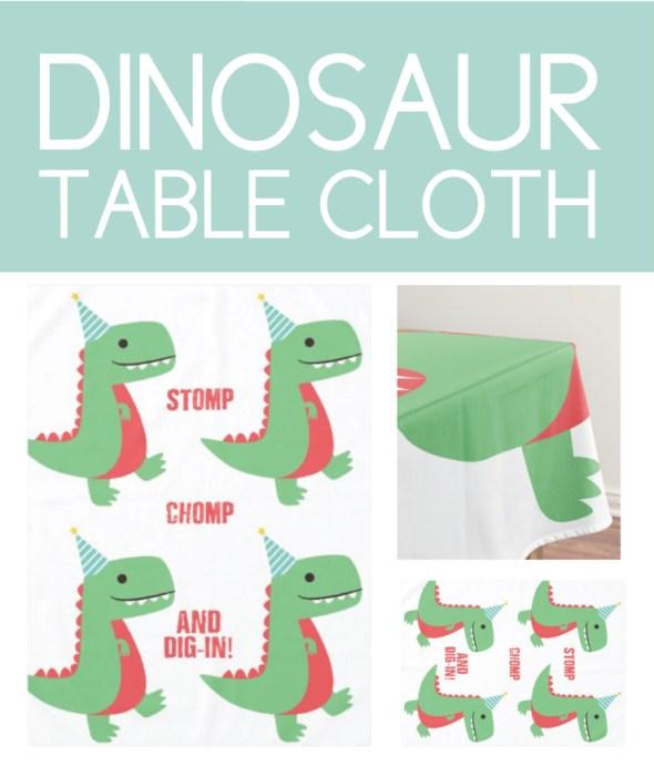 Dinosaur Table Cloth