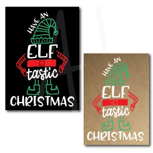 Elf Themed Christmas Cards