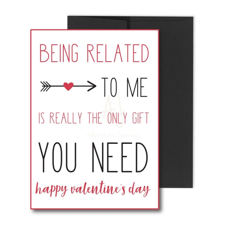 Valentine's Card for Family