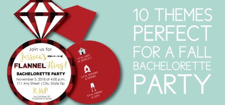10 Fall Bachelorette Party Themes