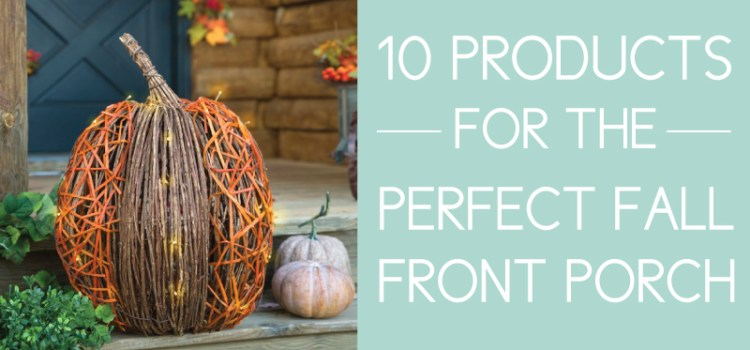 10 Fall Front Porch Ideas