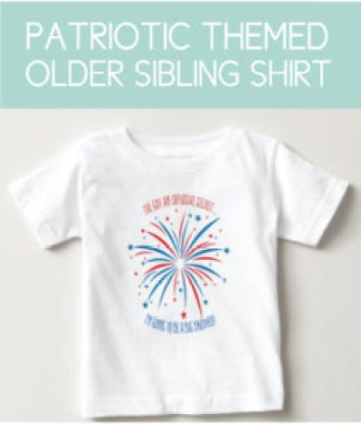 Patriotic Shirt for the Sibling
