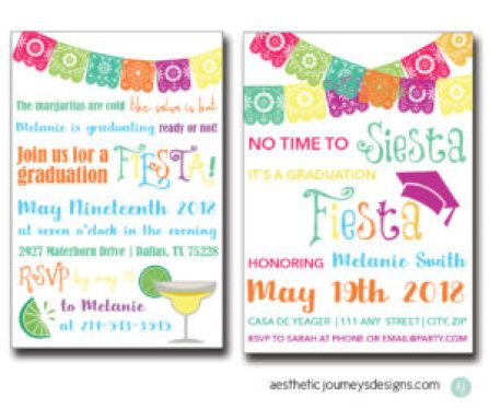 Fiesta Graduation Invite