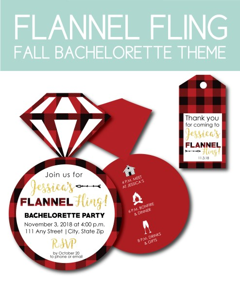 Flannel Fling Bachelorette Party