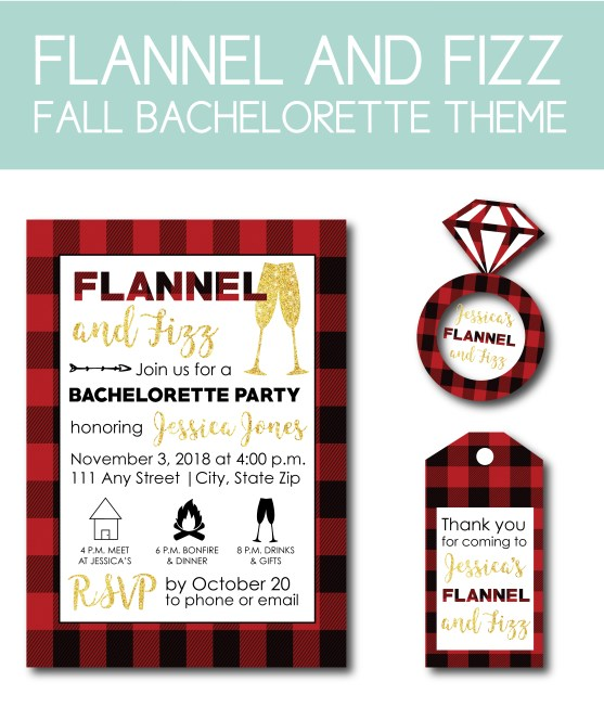 Flannel and Fizz Fall Bachelorette
