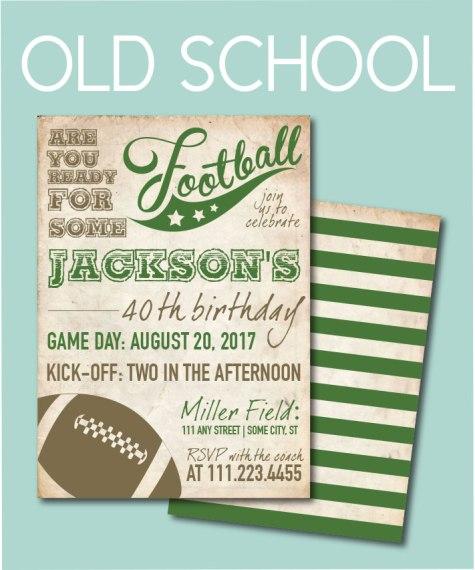 Old School Invite
