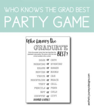 Who Knows the Graduate Best Game