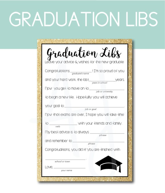 17 Graduation Party Ideas You Can Download and Print at Home