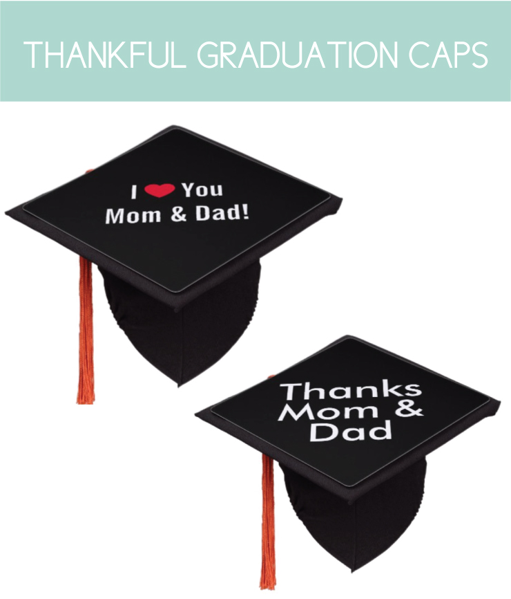 Thankful Graduation Caps