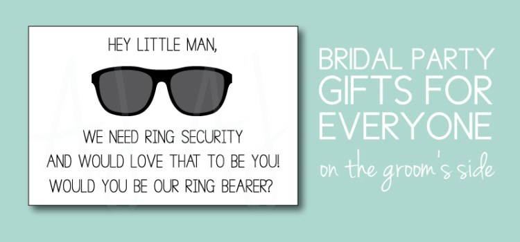 Groom's Bridal Party Gifts