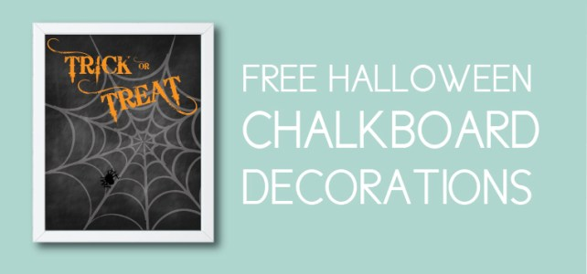 Free Halloween Decorations + 10 Creative Ways to Use Them