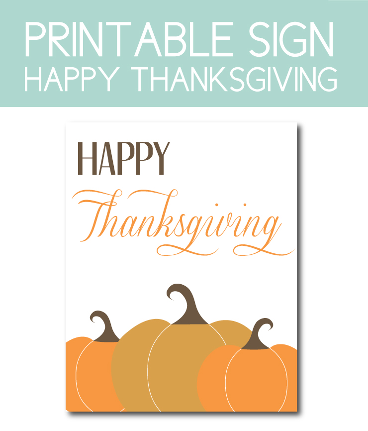 photograph relating to Happy Thanksgiving Signs Printable known as thanksgiving game titles Archives - AJ Style and design + Images