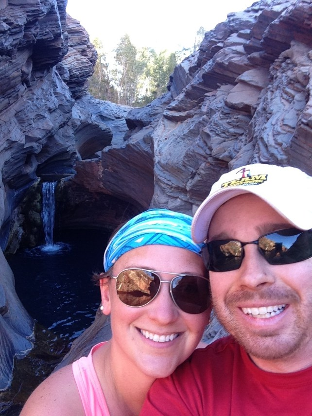 Hamersley Gorge Waterfall