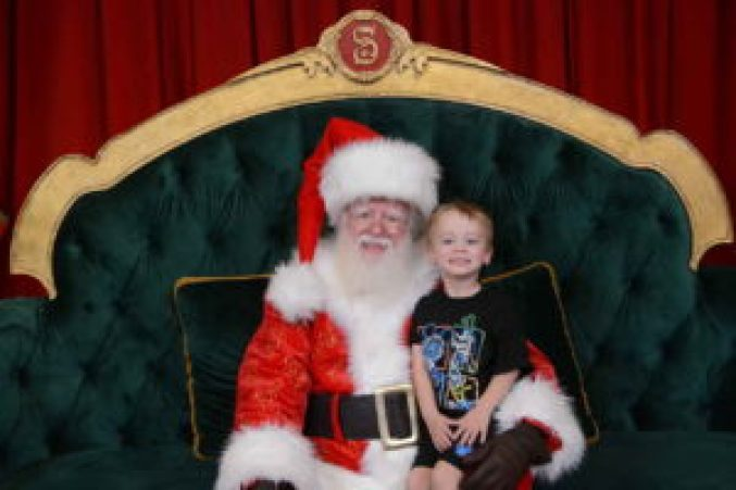 Meet Santa at the Magic Kingdom