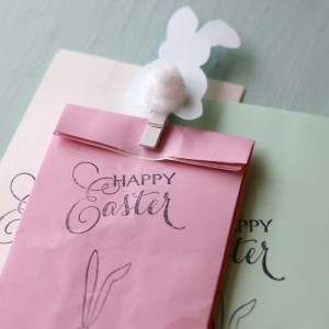 Happy Easter Bunny Bags