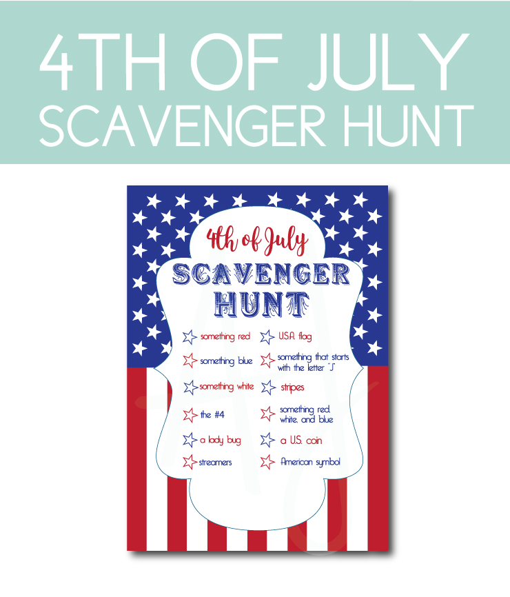 July 4th Scavenger Hunt