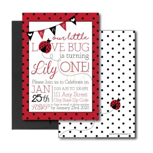 Love Bug First Birthday