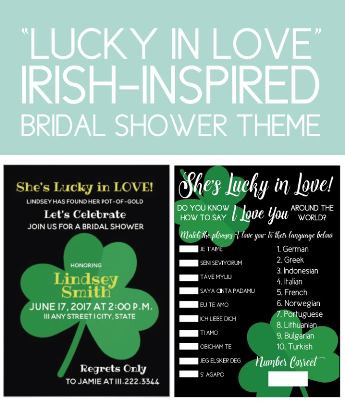 Lucky in Love Bridal Shower