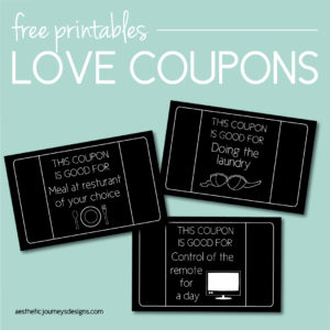 Download free love coupons