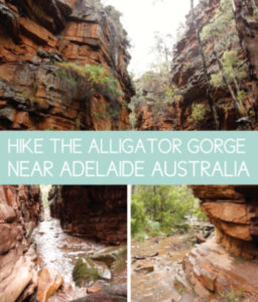Hike Alligator Gorge Near Adelaide